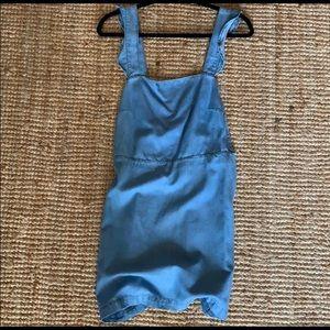 Zara Denim Chambray Dress ✨